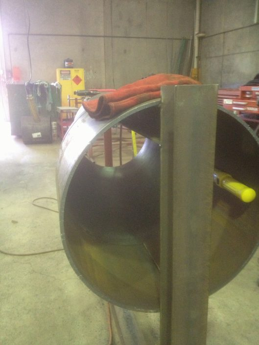 600 - 400 Welded Reducer - Pre Fabrication