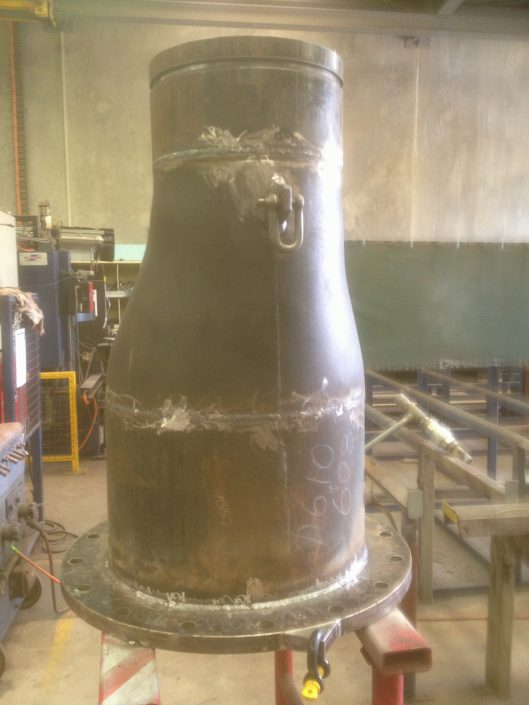 600 - 400 Welded Reducer - Post Fabrication