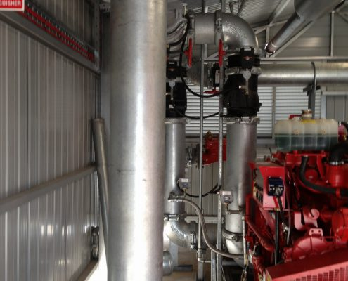 Fire Pump Room Pipework (3)