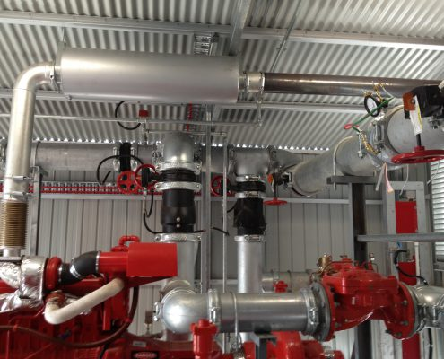 Fire Pump Room Pipework (2)