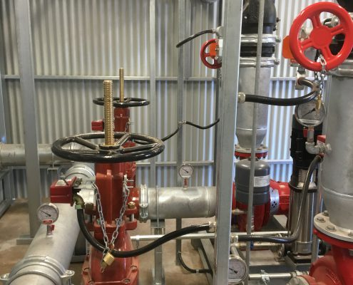 Fire Pump Manifold